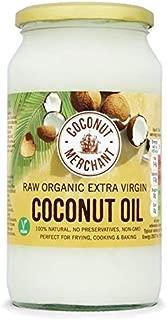 Coconut Merchant Raw Organic Extra Virgin Coconut Oil - 1L (33.81fl oz)