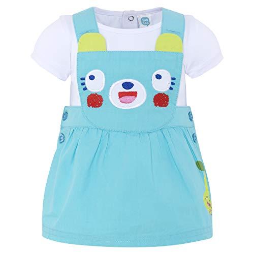 Tuc Tuc Pichi Popelín+Camiseta Punto Niña Smoothies Petos para Bebés