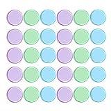 NUOBESTY 300 Stücke Transparent Bingo Chips Zählen Chips Kunststoff Marker 19Mm (Green Lake Blue Light Rosy) -