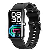 Reloj inteligente para hombres y mujeres, Bluetooth Fitness...