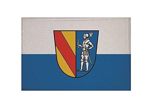 U24 Aufnäher Emmendingen Fahne Flagge Aufbügler Patch 9 x 6 cm