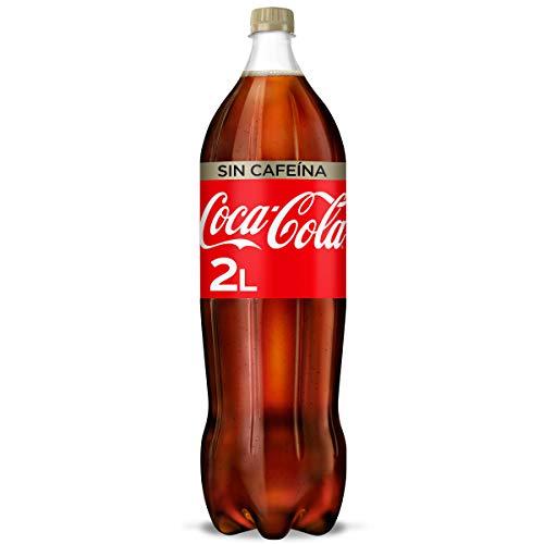Coca-Cola Sabor Original Sin Cafeína - Refresco de cola - botella 2L