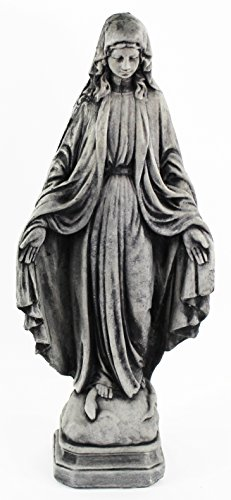 Madonna Statue Virgin Mary Figure Home and Garden Statues Cement Figures Concrete Statuary