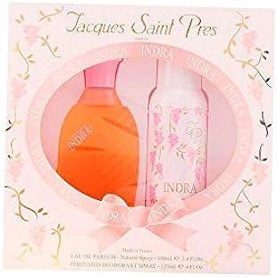 Urlic De Varens Indra Batch 2Pz. Eau De Parfum Spray, 100 ml + Deodorant Spray, 125 ml, 225 ml