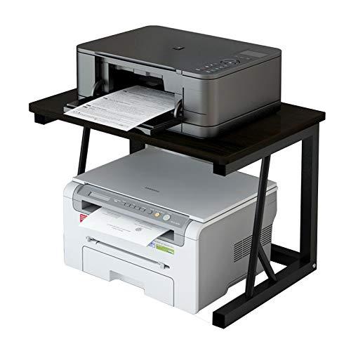 Soporte para impresora de sobremesa, fotocopiadora, pequeña impresora, estante de almacenamiento para múltiples oficinas de escritorio y copiadora láser