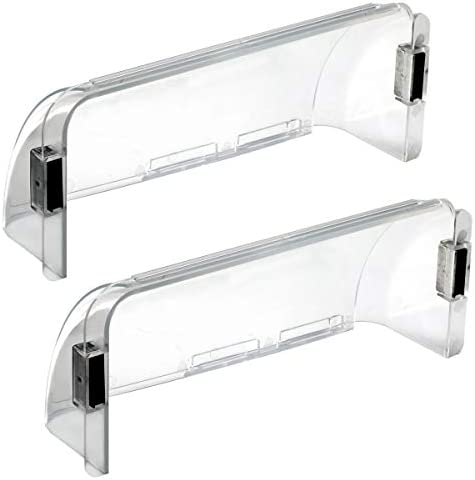 Lisol 2 Pack Magnetic Air Deflector Adjustable for Sidewall Vent and Ceiling Registers Ceiling product image