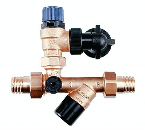 SYR SYROBLOC 24 Trinkwasser-Sicherheitsgruppe 1/2' 10 bar bis 200 Liter