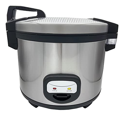 YBSVO 60-Cup (Cooked) Commercial Rice Cooker
