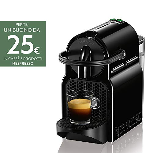 Nespresso Inissia EN80.B Macchina per caffè Espresso, 1260 W, 1 Cups,...