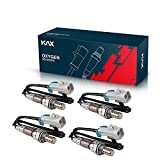 KAX 15284 SG1857 Oxygen Sensor 250-24470 Heated O2 Sensor Original Equipment Replacement Set of 4