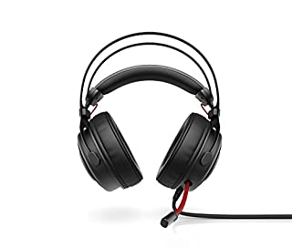HP Casque Gaming OMEN Headset 800 Prise Jack 3,5mm compatible PC Portable, Téléphone et Consoles de Jeux - Son Surround 7.1 - Microphone - Noir/Rouge (B072JYG8J1) | Amazon price tracker / tracking, Amazon price history charts, Amazon price watches, Amazon price drop alerts