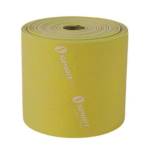 Spirit - Fascia Elastica per Fitness, 9 kg, Senza Lattice, Rotolo da 22,8 m