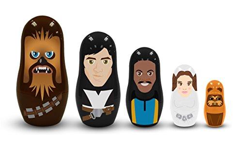 Star Wars - Figura Set 5 matrioskas Rebeldes - Merchandising Cine