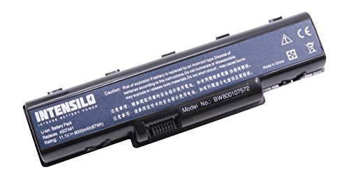 INTENSILO batería Li-Ion 6000mAh (10.8V) para Laptop, Notebook Acer Aspire 5735Z-582G16Mn, 5737,...
