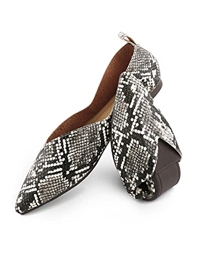 Top 10 best selling list for pointed snakeskin flat shoes