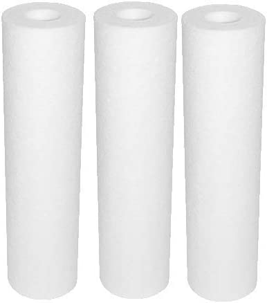 3 Pack GE Water Filters, 5 Micron, Compatible Filters for GE Systems - GXWH04F, GXWH20F, GXWH20S, GXRM10, GX1S01R, GXWH04F, GXWH20F, GXWH20S