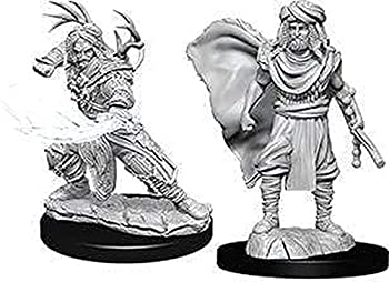 NECA D&D Nolzurs Marvelous Unpainted Miniatures  Wave 6  Human Male Druid
