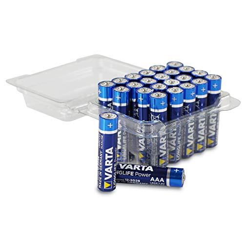 24 Varta Longlife Power, hohe Energie, Micro AAA 4903 Batterien Alkaline MN2400 Sonderpack,