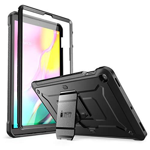 SUPCASE Unicorn Beetle Pro Series Hülle für Galaxy Tab S5e Hülle, Ganzkörper robuste Schutzhülle mit eingebautem Displayschutz für Samsung Galaxy Tab S5e 10,5 Zoll 2019 Modell (SM-T720/T725) (Schwarz)