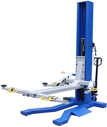 Sale!! Ideal 6000 lb Capacity Mobile Single Column Lift