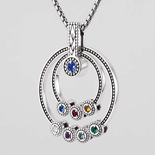 Generations of Love Family Birthstone Necklace