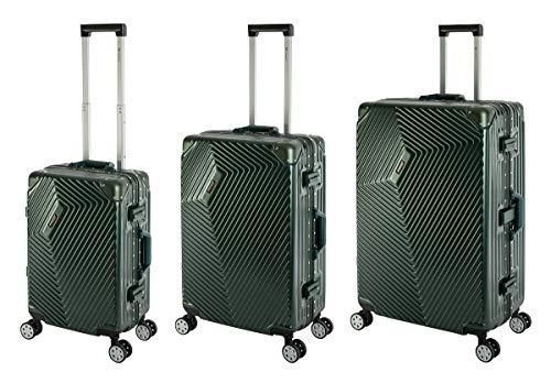 Travelhouse Roma Suitcase, Aluminium Frame and Polycarbonate Hard Shell Travel Luggage Trolley Suitcase
