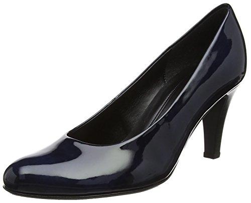 Gabor Shoes Damen Basic Pumps, Blau (Marine), 41 EU