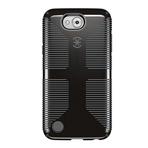 Capa Speck CandyShell Grip para smartphone LG X Power 2 (LG Fiesta LTE, LG X Charge), preto/cinza claro