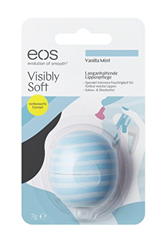 Visibly Soft Vanilla Mint Smooth Sphere Lip Balm Blister, 7g