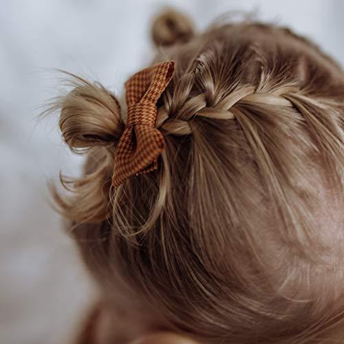 Baby Haarspange Wintercheck | Orange | Baby | Orange