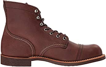 Red Wing Heritage Iron Ranger 6-Inch Boot, Amber Harness, 8 D(M) US