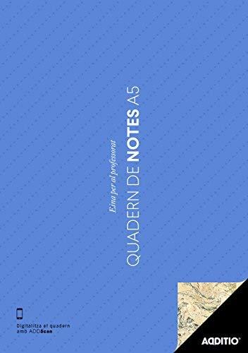 Additio P101 - Cuaderno de Notas A5 (catalán), colores aleatorios