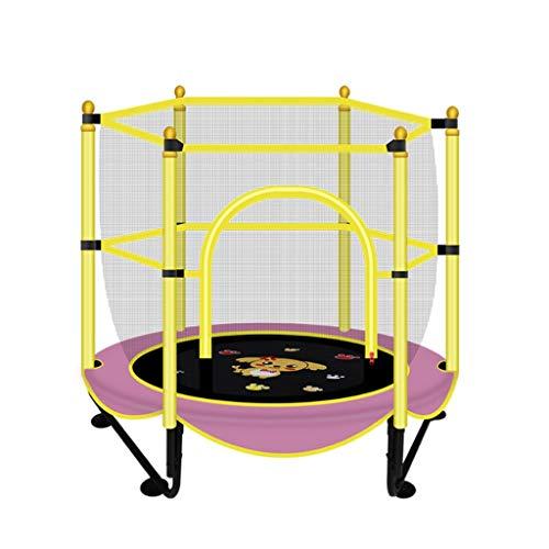 Jiamuxiangsi Kindertrampoline Kindertrampoline Binnen Springen Bed Verhoogd Bouncing Bed Opvouwbaar Binnen Kindernet 500 Kg Indoor trampolines