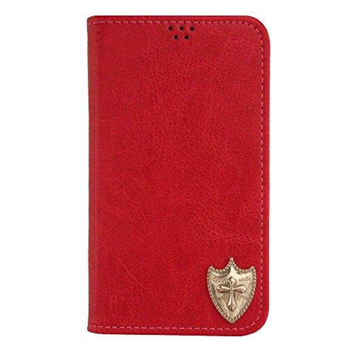 【ROCOCO】AQUOS SERIE mini ケース アクオス 手帳型ケース SHL24 手帳型カバー 携帯ケース スマホケース かわいい 収納 カード入れ Diary Case 携帯 シンプル 人気 デザイン 丈夫 icカード入れ 盾 タテ カッコイ
