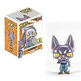 LUGJ Funko Pop Dragon Ball Super Kawaii Q Versión Nendoroid Anime Figura Chapado Birus En Caja Pop V...