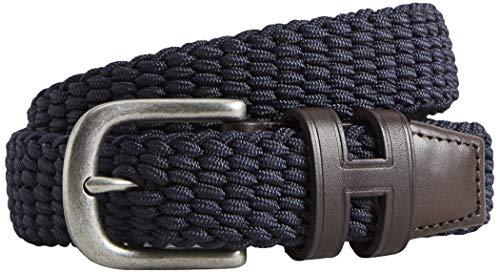 Hackett London Jungen Gürtel KIDS NEW PARA BELT Blau (Navy 595), M (Herstellergröße: M)