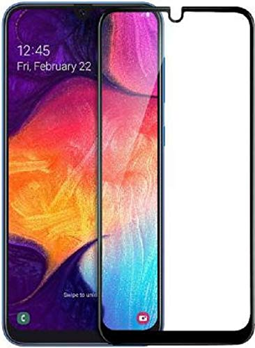Efficia Full Protection Tempered Glass for Samsung Galaxy M21 / M30 / M31 Top Notch Edge to Edge Full Screen Coverage [Anti-Scratch] [Gorilla] [Free Cleaning Kit Included]