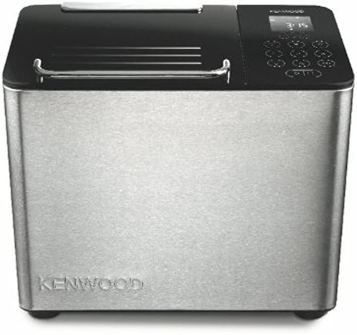 Macchina per il pane, 780 w, 0 decibel, metallo, vetro, acciaio, nero kenwood bm450 0WBM450002_silber