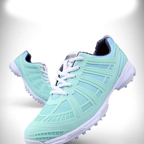 Santonliso Damen Sportschuhe Golfschuhe wasserdichte Anti-Rutsch-Ultraleicht-Laufschuhe (Farbe :...