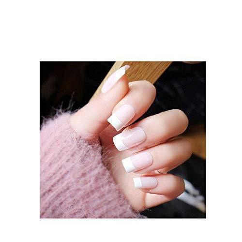100PCS-French Nails Schablone Halbmond,French Chip-Proof Maniküre-Kit, French Chip-Proof Manicure Nail Tips