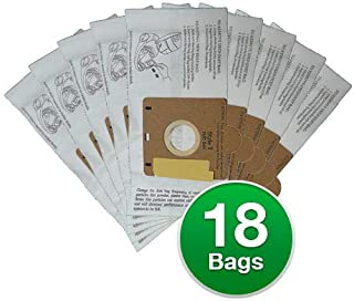 EnviroCare Replacement Vacuum Bags for Eureka Style T Canisters Bags (18 Bags)