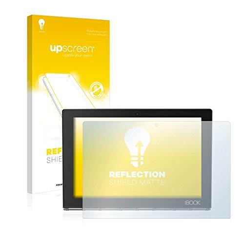 upscreen Entspiegelungs-Schutzfolie kompatibel mit Lenovo Yoga Book – Anti-Reflex Displayschutz-Folie Matt