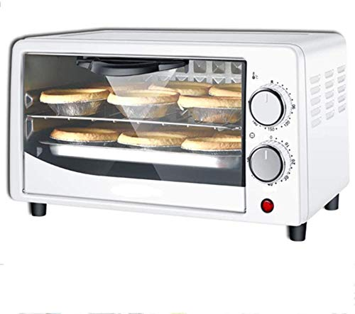 Mini Oven 12-Liter, Toster Oven Multi-Function Electric Oven Convection Countertop Toaster Oven