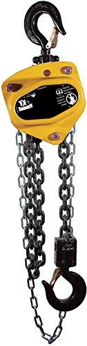 All Material Handling CB020-30-28 Badger Manual Chain Hoist, 2 Ton, 30' Lift, 28' Drop