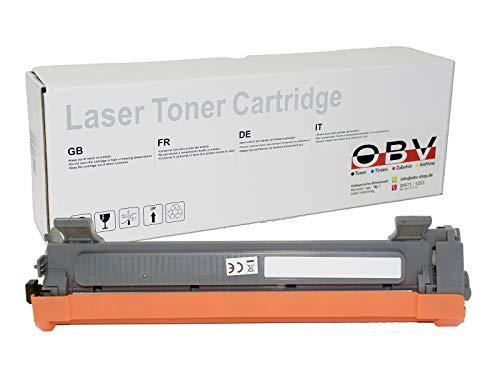 OBV kompatibler XL Toner als Ersatz für Brother TN 1050 für HL-1110 HL-1112 HL-1210W HL-1212W MFC-1810 MFC-1910W MFC-1911NW MFC-1915W DCP-1510 DCP-1512R DCP-1601 DCP-1610W DCP-1612W, 2000 Seiten schwarz