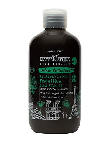 Maternatura Balsamo Capelli Protettivo alla Zeolite, Beauty Routine Urban Protection - 250 Ml