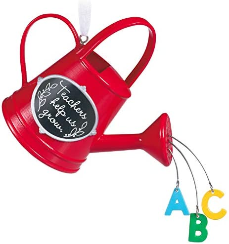 Hallmark Keepsake Christmas Ornament 2020 Thanks Teacher Watering Can product image