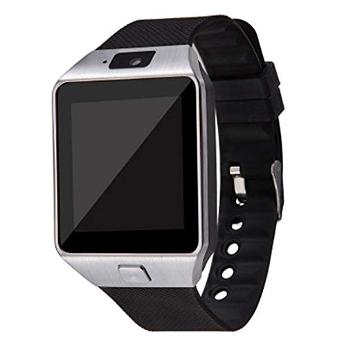 LEXIANG Reloj Inteligente con Pantalla táctil dz09 con cámara Reloj de Pulsera Bluetooth Relogio Tarjeta SIM Reloj Inteligente para teléfono xiao mi i Sam Sung Hombres Mujeres
