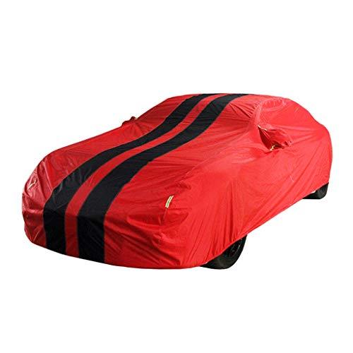 JMQCXD Autoabdeckung Kompatibel mit Chevrolet Bel Air Wagon Car Cover Outdoor Regenfest Wasserdicht Schnee- Sunscreen Persönlichkeit Mode Oxford Cloth Car Cover (Color : Reddish Black)