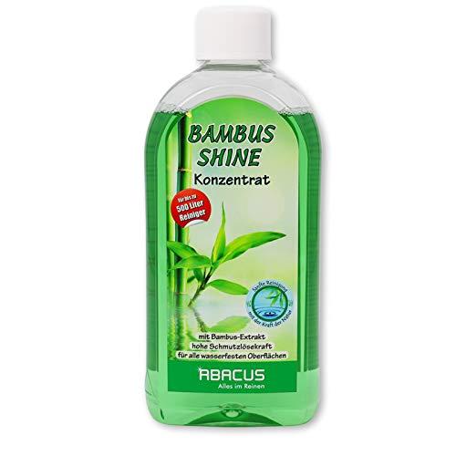 Bambus Shine Reinigungskonzentrat 500 ml (Glasreiniger Spiegelreiniger Fensterreiniger Kunststoffreiniger Lederreiniger Bambusreiniger)